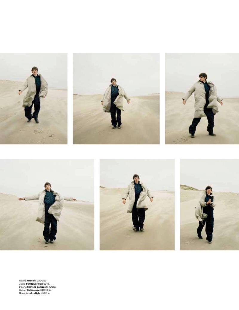 Erik Hits the Beach for Euroman