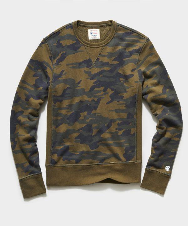Fatigue Camo Crewneck Sweatshirt