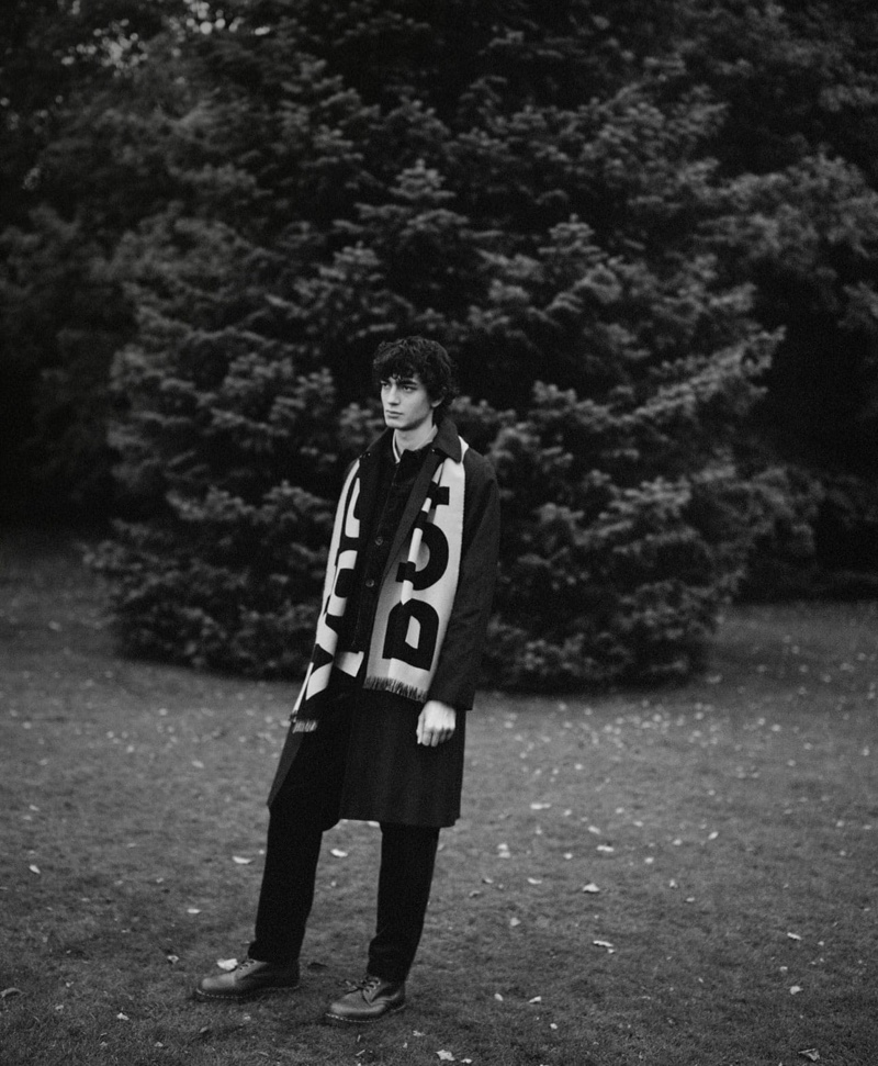 Gena Heads Outdoors in Winter Styles for MatchesFashion