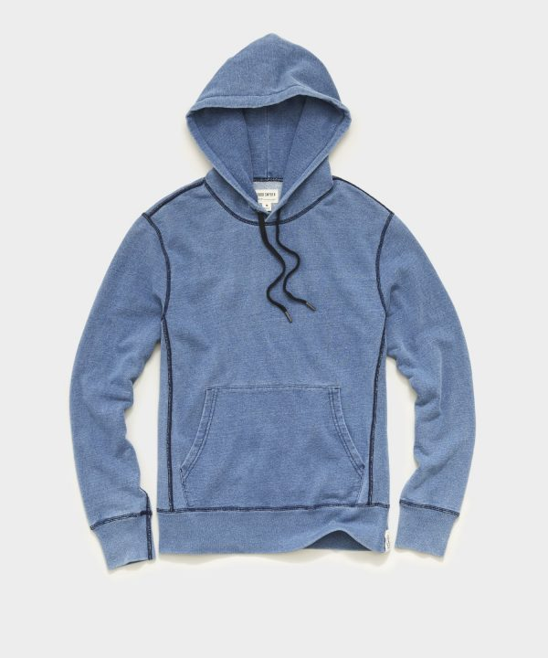 Issued By: Popover Hoodie in Light Indigo