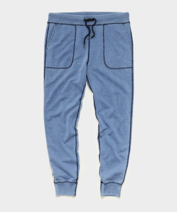 Issued By: Slim Sweatpant in Light Indigo