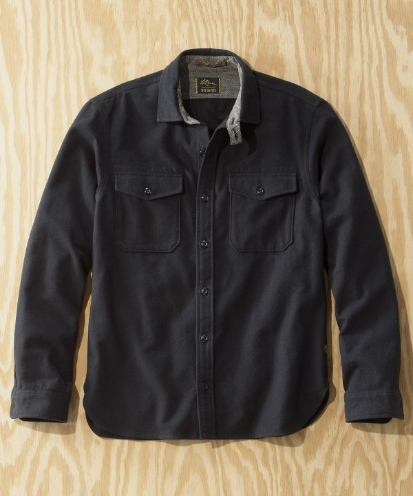 L.L.Bean x Todd Snyder Chamois Shirt in Black