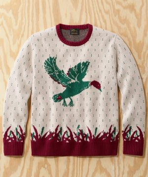 L.L.Bean x Todd Snyder Heritage Crewneck Sweater in Multi