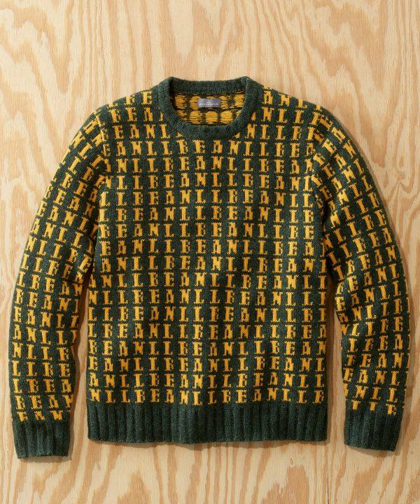 L.L.Bean x Todd Snyder LOGO Sweater in Seafoam