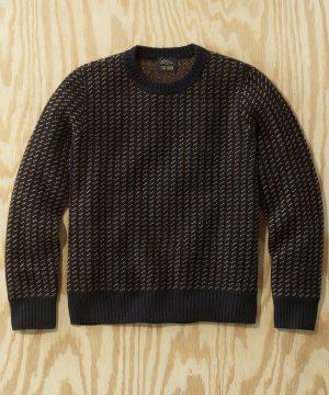 L.L.Bean x Todd Snyder Pullover Sweater in Black