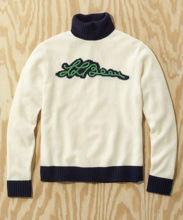 L.L.Bean x Todd Snyder Script Sweater in Sail