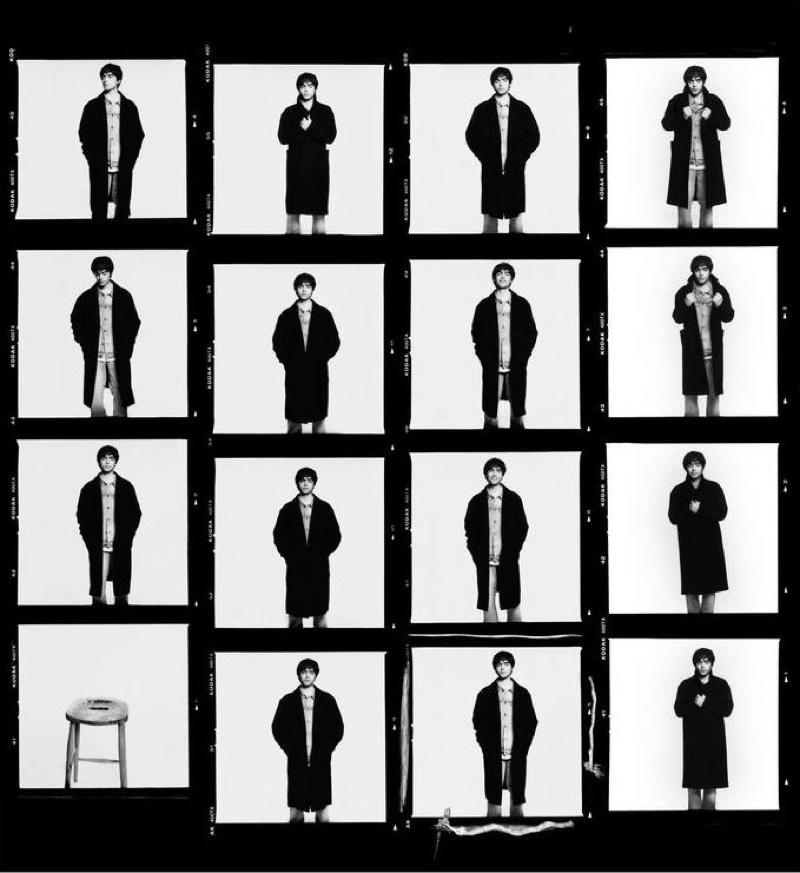 David Bailey photographs Lennon Gallagher for Zara Man.