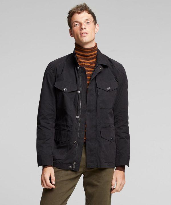 Made in New York Field Jacket in Black