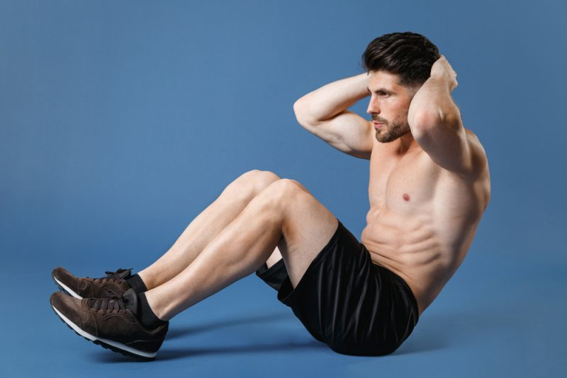 Male Model Working Out