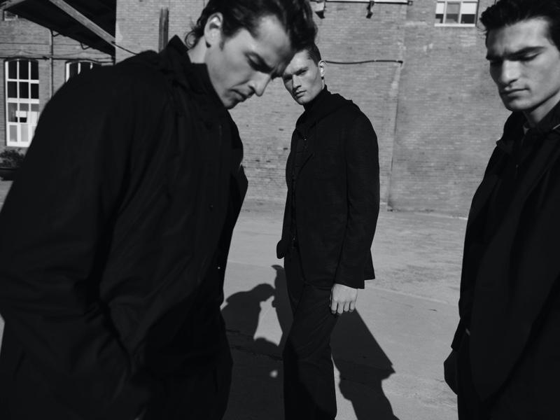 William, Philip & Alberto Make Moves in Massimo Dutti