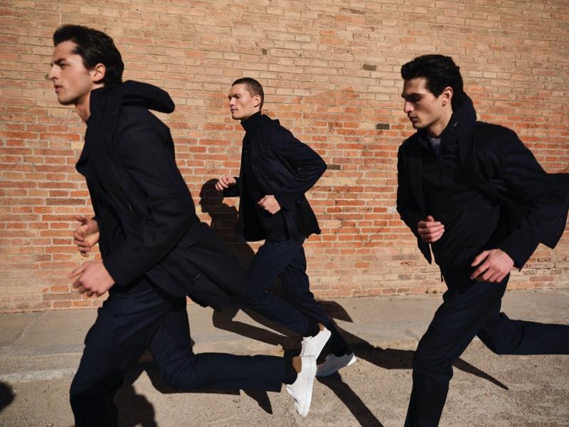 Hunter & Gatti photographs Alberto Perazzolo, William Los, and Philip Lach De Bere for Massimo Dutti.