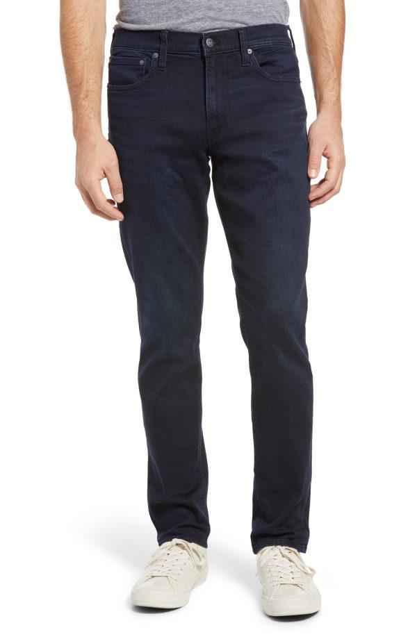 Men's Madewell Everyday Flex Athletic Slim Jeans, Size 31 x 32 - Blue