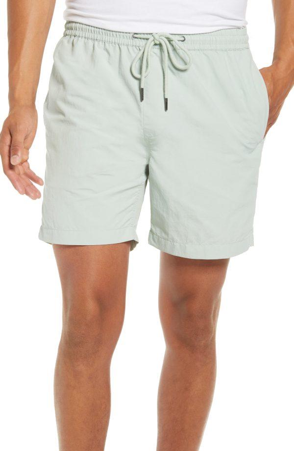Men's Madewell Everywear Shorts, Size XX-Large - Green