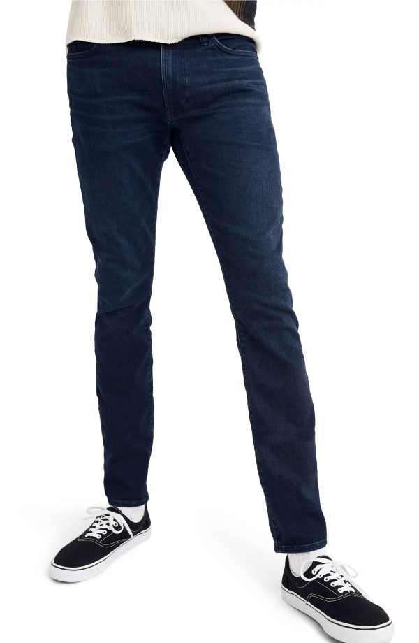 Men's Madewell Skinny Everyday Flex Jeans, Size 32 x 32 - Blue