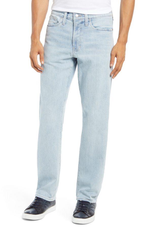 Men's Madewell Slim Straight Leg Jeans, Size 32 x 32 - Blue