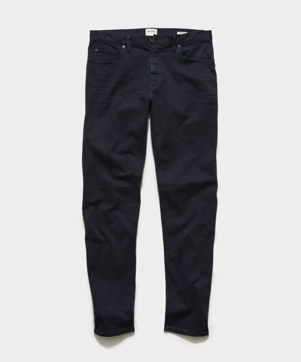 STRAIGHT FIT 5-POCKET CHINO IN NIGHTWATCH
