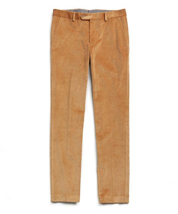 Sutton Corduroy Trouser in Mocha