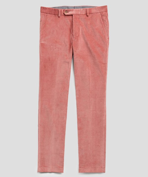 Sutton Corduroy Trouser in Pink