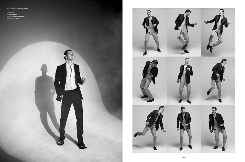 Thibaud Goes Formal for L'Officiel Hommes Poland