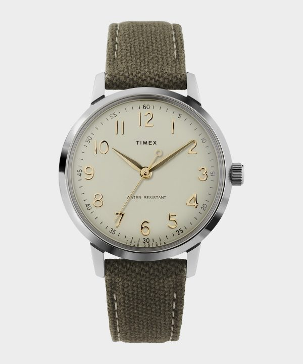 Timex + Todd Snyder Liquor Store Watch in Olive