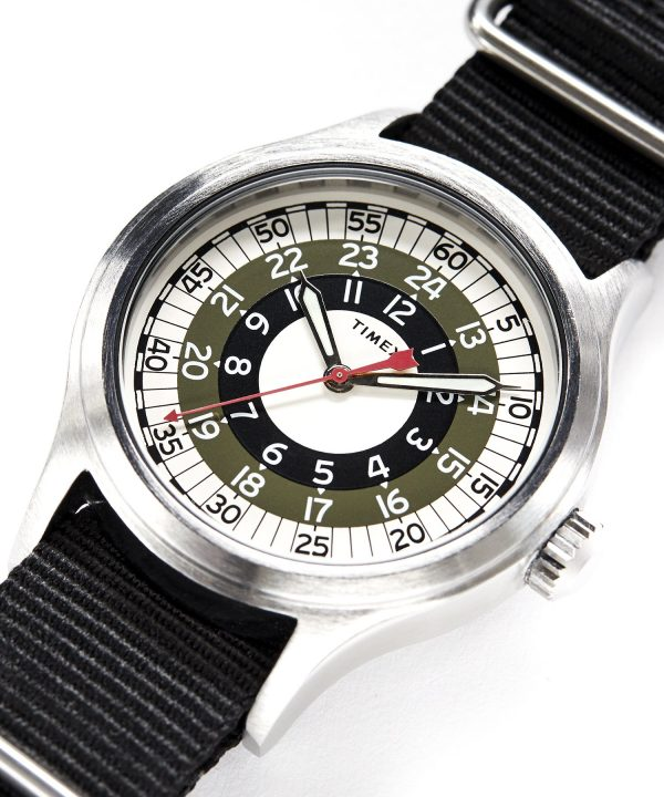 Timex + Todd Snyder Mod Watch in Olive 40mm