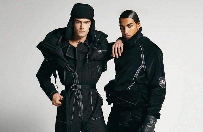 Charlie & Luca Inspire in Sleek VMAN Story