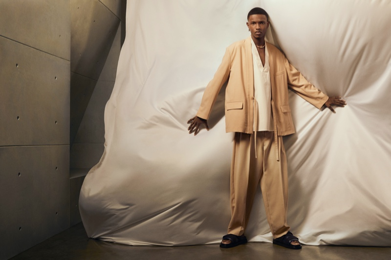 Ambush enlists Malik Anderson as the face of its spring-summer 2021 men's campaign.