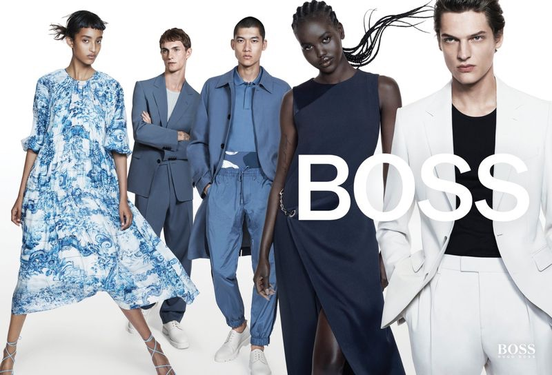 Luc, Valentin, Jeremiah & Yun Star in BOSS Spring Campaign