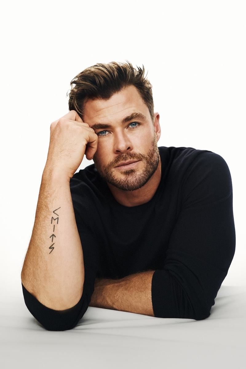 Front and center, Chris Hemsworth is BOSS' newest global brand ambassador.