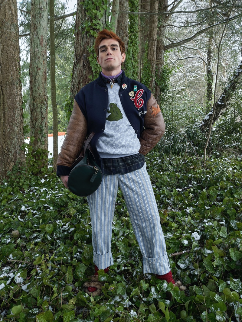 Juergen Teller Snaps KJ Apa, Ma Zhe + More in Coach Fall Collection
