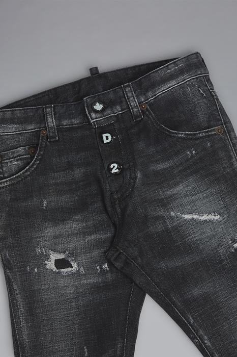 DSQUARED2 Men 5 pockets Black Size 16 98% Cotton 2% Elastane