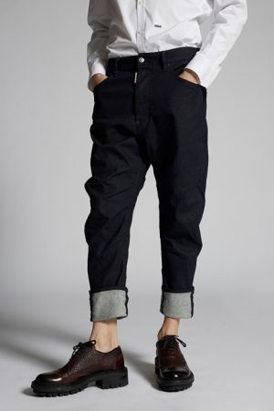 DSQUARED2 Men 5 pockets Blue Size 40 98% Cotton 2% Elastane