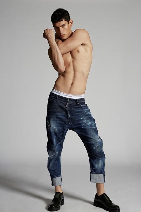 DSQUARED2 Men 5 pockets Blue Size 46 98% Cotton 2% Elastane