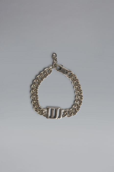 DSQUARED2 Men Bracelet Silver Size OneSize 80% Brass 20% Zama