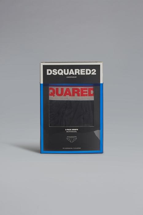 DSQUARED2 Men Brief Red Size XXL 94% Modacrylic 6% Elastane