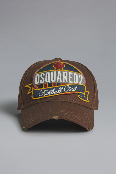 DSQUARED2 Men Hat Brown Size OneSize 100% Cotton