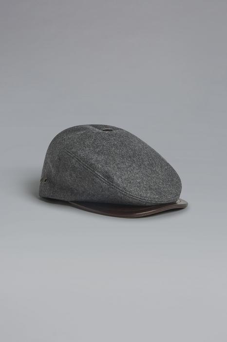 DSQUARED2 Men Hat Grey Size OneSize 70% Wool 24% Polyester 6% Polyamide Calfskin