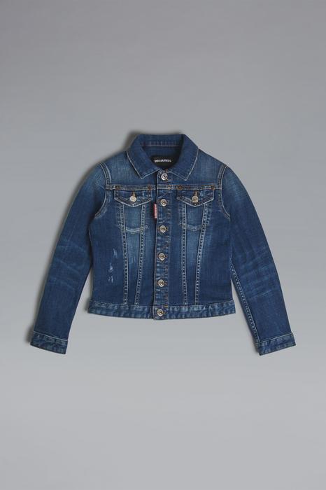 DSQUARED2 Men JACKET/BLAZER Blue Size 16 98% Cotton 2% Elastane