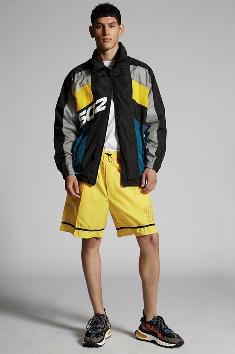 DSQUARED2 Men Jacket Black Size 40 100% Polyamide