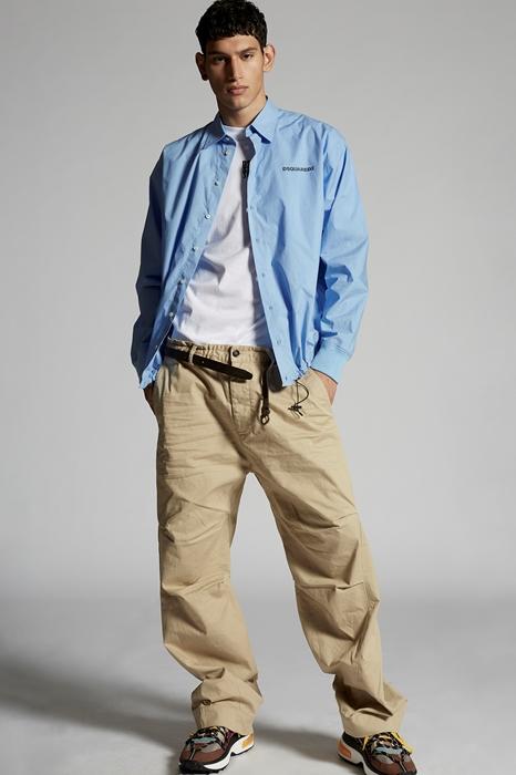 DSQUARED2 Men Pants Beige Size 26 97% Cotton 3% Elastane