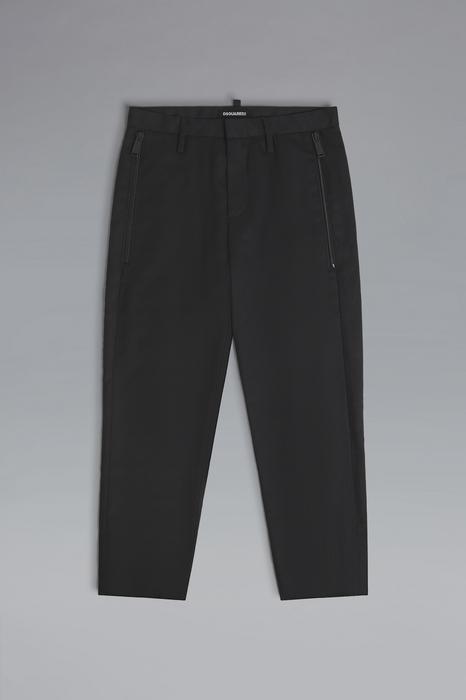 DSQUARED2 Men Pants Black Size 10 55% Polyester 44% Wool 1% Elastane