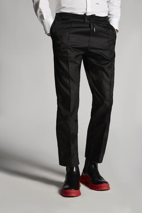 DSQUARED2 Men Pants Black Size 40 100% Polyamide