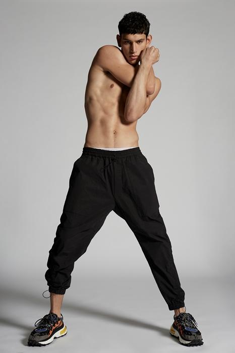 DSQUARED2 Men Pants Black Size 44 97% Cotton 3% Elastane
