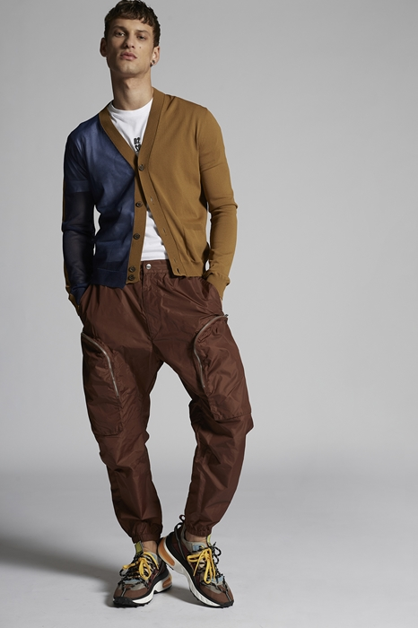 DSQUARED2 Men Pants Brown Size 28 100% Polyamide