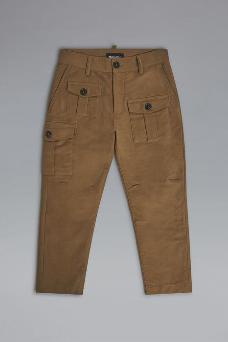 DSQUARED2 Men Pants Brown Size 4 98% Cotton 2% Elastane