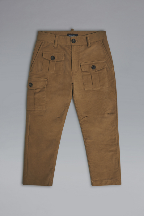 DSQUARED2 Men Pants Brown Size 8 98% Cotton 2% Elastane