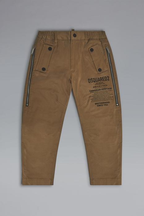 DSQUARED2 Men Pants Camel Size 16 98% Cotton 2% Elastane