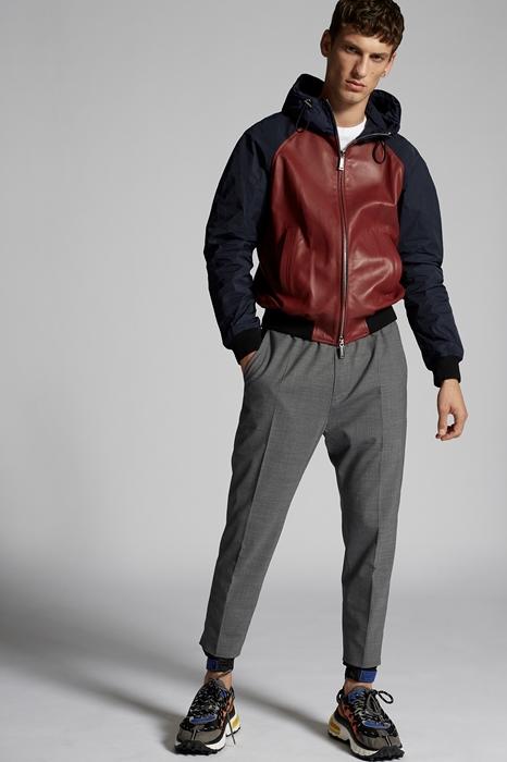 DSQUARED2 Men Pants Grey Size 40 53% Polyester 43% Virgin Wool 4% Elastane