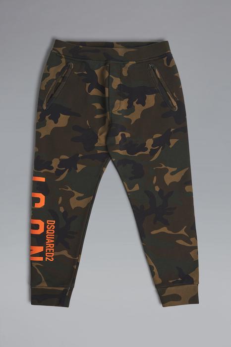 DSQUARED2 Men Pants Military green Size 16 100% Cotton
