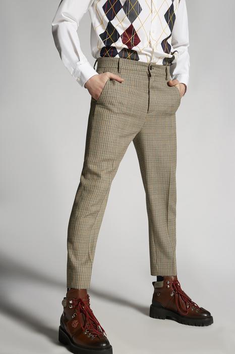 DSQUARED2 Men Pants Multicoloured Size 32 100% Virgin Wool